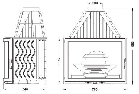 Laudel Panoramique 800-1