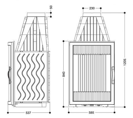 Laudel Vertical Grande Vision 840-1