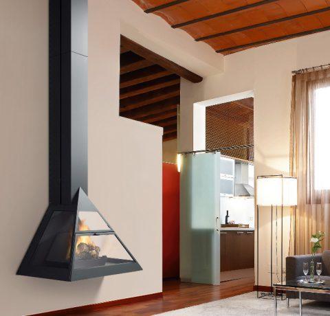 Дизайнерский камин Admeto-frontal Пример 1