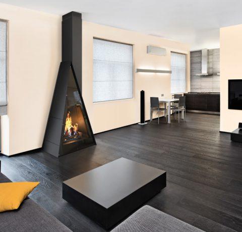 Дизайнерский камин Breda Пример 1
