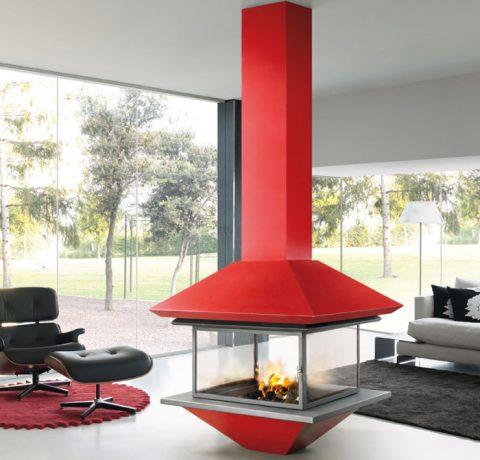 Дизайнерский камин Gaia-centra Пример 1