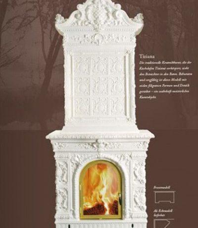 Изразцовая печь Tiziana
