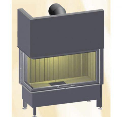 Стальная топка Spartherm Varia 2L-100h Пример 1